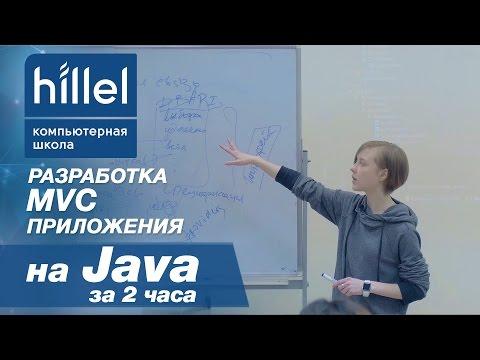 Разработка MVC приложения на Java за два часа | Компьютерная школа Hillel