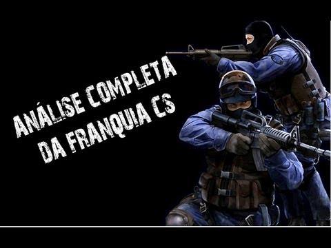 Franquia Counter Strike: Analisando o game por completo