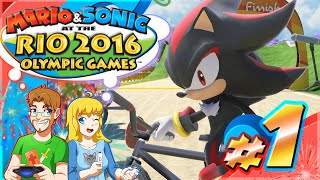 Mario & Sonic at the Rio Olympic Games Part 1 SHADOW BMX GOLD! (HD)