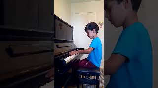 Ed sheeran shape of you on piano by siddhant rana age 7 years 1 07 17