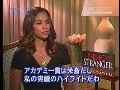 Halle Berry Japanese Interview for Perfect Stranger Video
