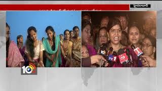 బతుకమ్మ ఆడిన మేయర్ సతీమణి… | Hyderabad Mayor | GHMC Mayor Wife | Bathukamma Celebrations