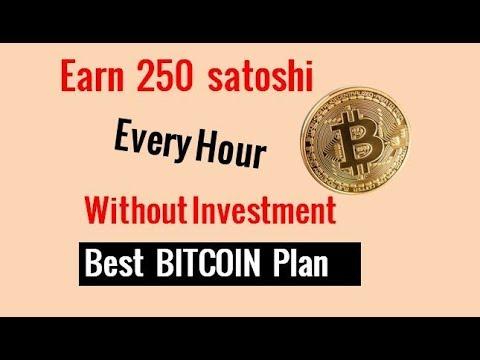 Earn 50 satoshi every 13 Minutes||Earn Free Bitcoins 2018 Urdu/ Hindi