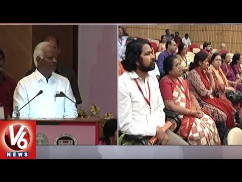 Dy CM Kadiyam Srihari Speech At 62nd Session Of Indian Historical Records Committee | V6 News