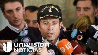 """Expertos analizan """"ruidos"""" que podrían provenir del submarino argentino desaparecido en el Atlántico"""