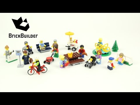 Lego City 60134 Fun in the Park - City People Pack - Lego Speed Build