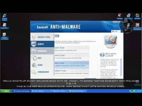 Emsisoft Anti-Malware 7 - Test with more links