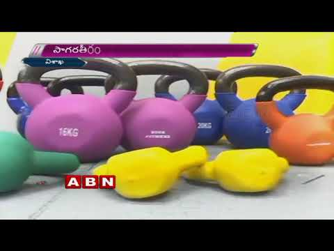 Actress Mehreen Kaur Inaugurates Fitness Studio In Vizag | ABN Telugu