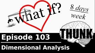 THUNK - 103. Dimensional Analysis