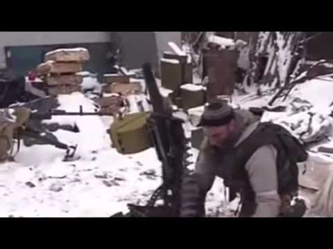 Exclusive footage of battle for boiler Debaltseve February 18 DNR War in Ukraine