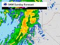 Forecast for system moving through NorCal Saturday night through Sunday