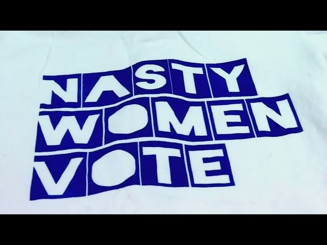 'Nasty Woman' T-shirts flying off the shelves after Trump said it about Clinton
