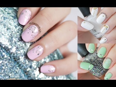 Prom Nails: 3 Easy Styles
