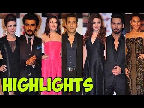 Salman Khan dances with Shahid Kapur, Highlights of an awards night
