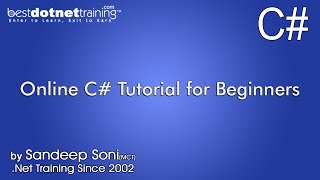 Tutorial for C# or C sharp, VB.NET - Language basics