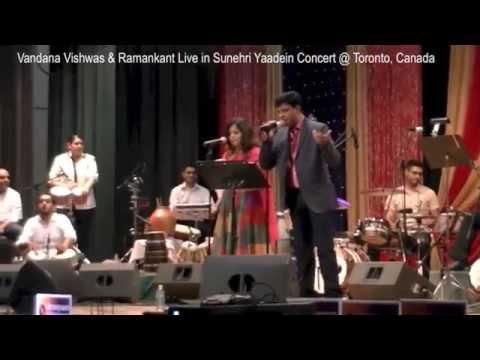Vandana Vishwas & Ramankant - Sunehri Yaadein Concert - Peete Peete