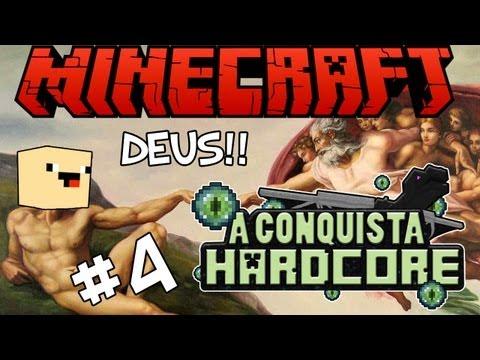 DEUS É A SALVAÇÃO! - A Conquista #4: Minecraft