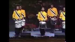 2013 Wof Christmas Concert Little Drummer Boy Drumline