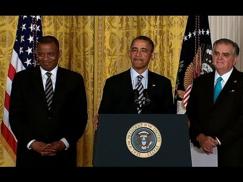 President Obama Nominates Anthony Foxx as Secretary of Transportation