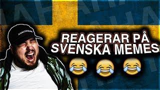 REAGERAR PÅ SVENSKA MEME'S **HAHAH ORKAR INTE**