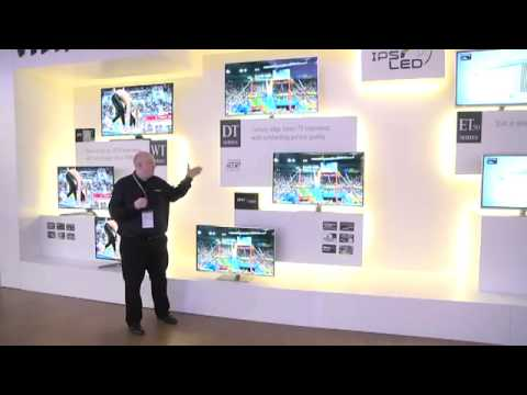 DSMA GROSSISTE PANASONIC CES 2012 TV LED 3D Série DT50.