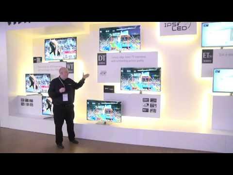 DSMA GROSSISTE PANASONIC CES 2012 TV LED 3D Série DT50.