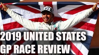 2019 United States Grand Prix Race Review