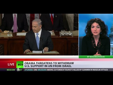 Obama threatens to withdraw US support for Israel in UN