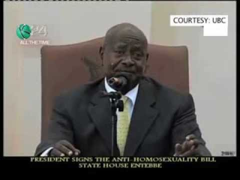 Ugandan President Signs Anti-Gay Bill Into Law