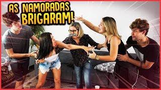 AS NAMORADAS BRIGARAM NA FRENTE DA MINHA MÃE!! - TROLLANDO MINHA MÃE [ REZENDE EVIL ]