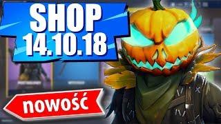 Sklep Fortnite 14.10.18 Sezon 6 | Pustogłowy - Dynia oraz? - Daily Item shop October 14.10 - Update