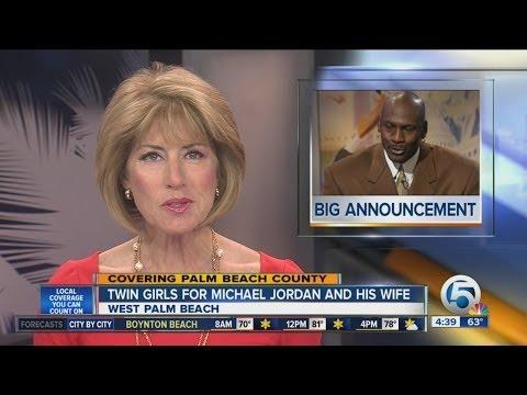 Michael Jordan, wife welcome twins in WPB