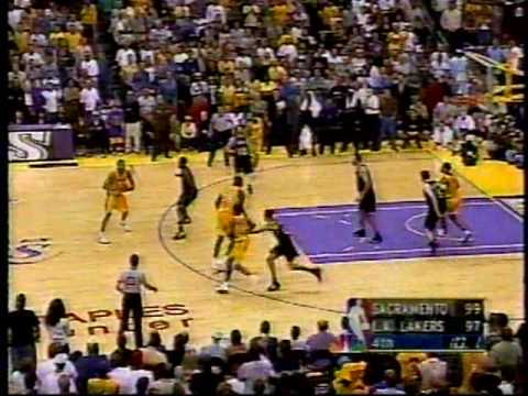 2002 WCF Kings vs. Lakers: Robert Horry Game Winner (Chick Hearn)