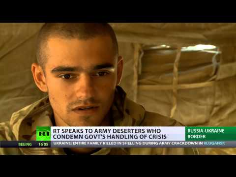 Uncertain Future Ahead: RT speaks to Ukrainian army deserters