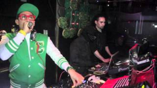 Taboo of The Black Eye Peas @ Greenhouse NYC 1-19-2012