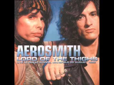 Aerosmith Brad Whitford solo / Last Child Mansfield 1988