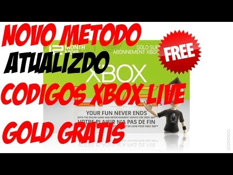 Como Conseguir Códigos de XBOX LIVE GOLD DE GRAÇA e iLimitado. Live Gold FREE [NOVO MÉTODO]