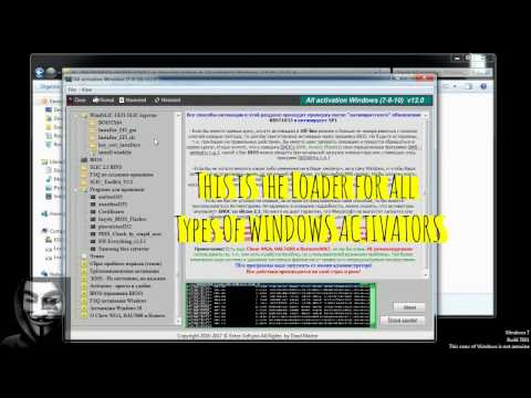 ALL ACTIVATION WINDOWS 7-8-10 V12.0 (WINDOWS & OFFICE ACTIVATOR) [LATEST]
