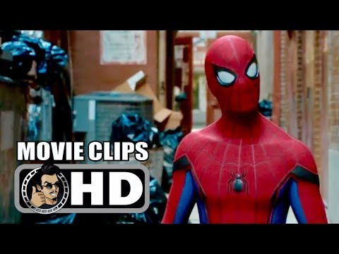 SPIDER-MAN: HOMECOMING - 5 Movie Clips + Trailer (2017) Tom Holland Marvel Superhero Movie HD thumbnail