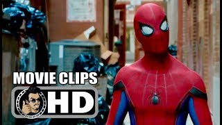 SPIDER-MAN: HOMECOMING - 5 Movie Clips + Trailer (2017) Tom Holland Marvel Superhero Movie HD