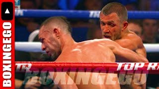 VASYL LOMACHENKO DEFEATS JOSE PEDRAZA - AWESOME ROUND 11 BUT NOT HIS BEST PERFORMANCE TANK & MIKEY?
