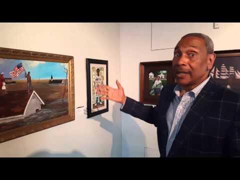 T. Ellis Museum Exhibit at (HMAAC) Houston Museum of African-American Culture