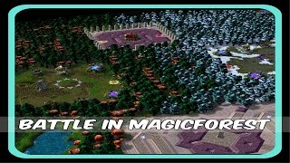Warcraft 3 - Battle in Magic Forest