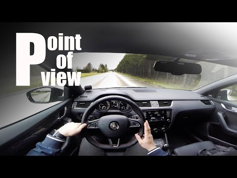 2016 Skoda Octavia vRS TDI 4x4 DSG POV test drive and review