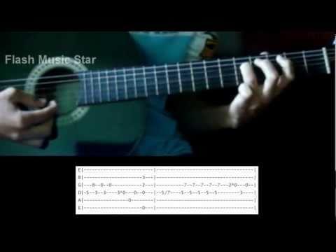Video aula de Como Tocar a Musica Projeto no deserto solo da Banda  Voz da Verdade Tablatura