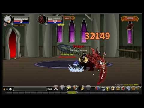 Aqworlds Darkblood StormKing Class Passive Skill