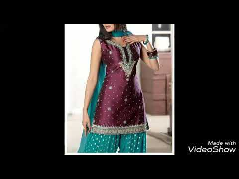 Sleeveless punjabi suit designs|| punjabi suit design||FASHION VISTA