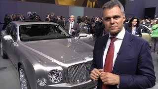 Bentley Mulsanne Hybrid Concept Car explained by Bentley CEO Dr. Wolfgang Schreiber