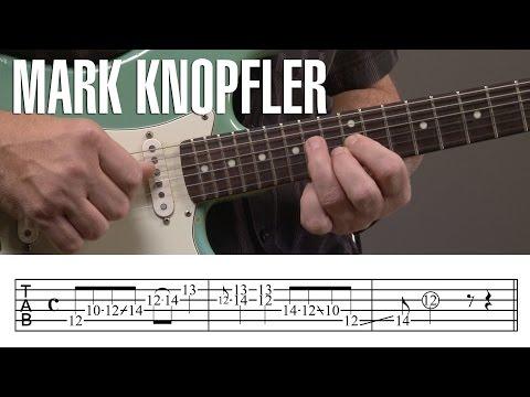 Mark Knopfler Guitar Licks Lesson