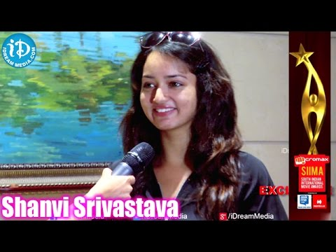 Actress Shanvi Srivastava Fun at SIIMA 2014 Awards, Malaysia Photo Image Pic